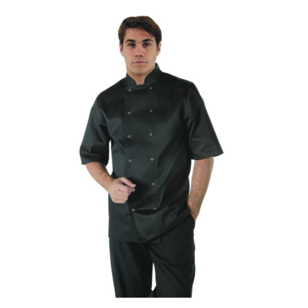 Dennys Chef Jacket Black