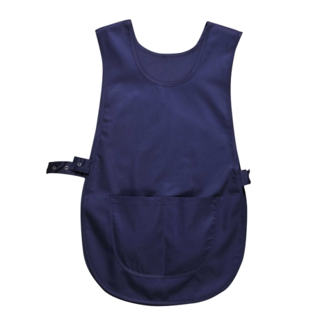 Tabard With Pocket Navy