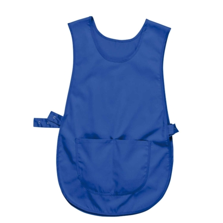 Tabard With Pocket Blue