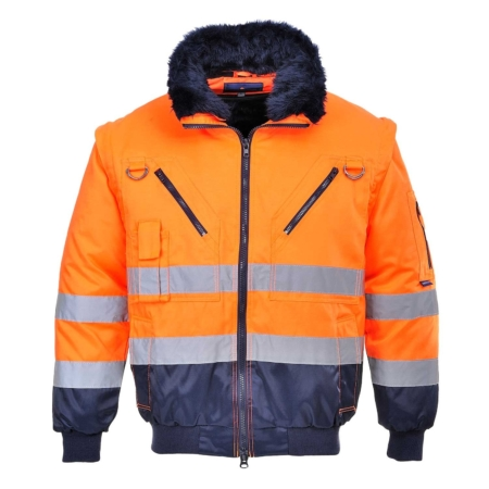 3 in 1 Hi Vis Jacket